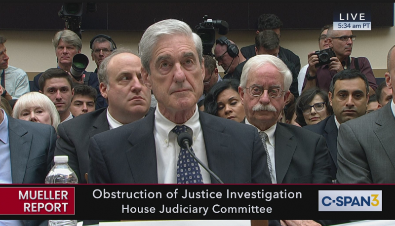 Mueller Hearing: House Judiciary Committee Spotlights Trump's Obstruction of Justice