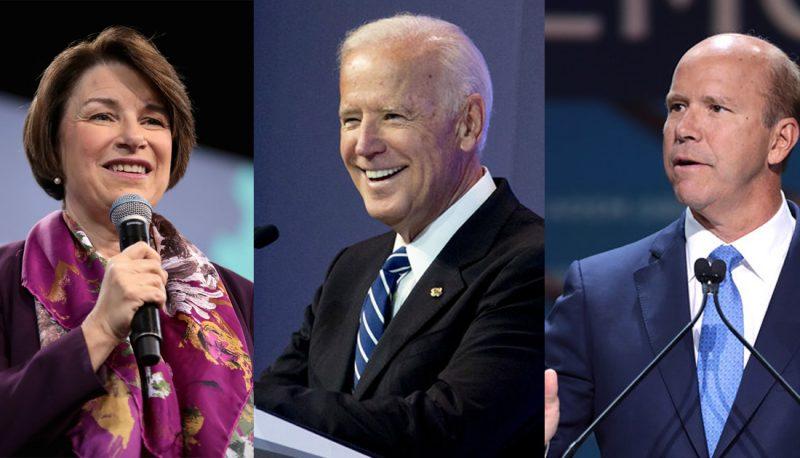 Joe Biden, Amy Klobuchar, and John Delaney Discuss Their Ideal Judicial Nominees