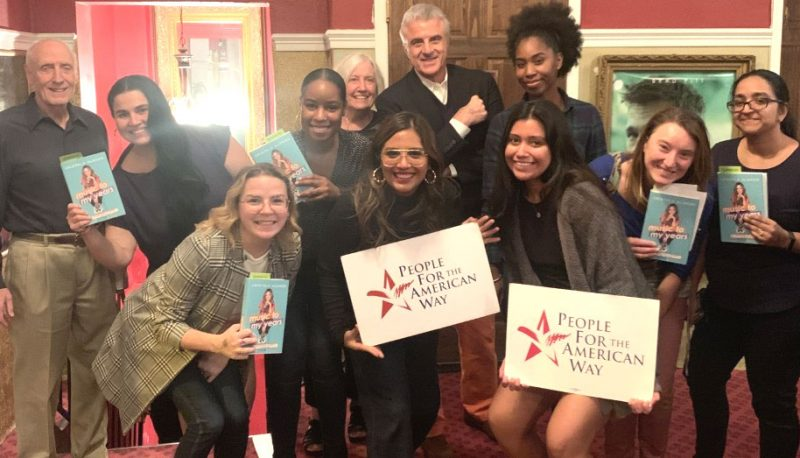PFAW Spends the Night Out with Cristela Alonzo