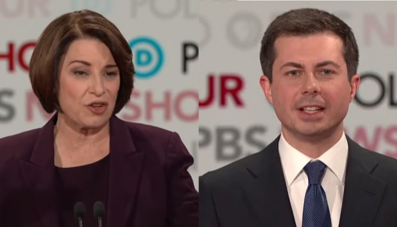 Klobuchar, Buttigieg Discuss Their Criteria for Judicial Nominees During December Debate