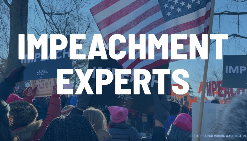 In the News: PFAW Experts on Trump Impeachment