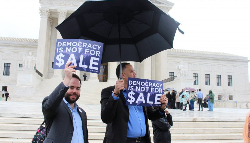 Activists Rally at the Supreme Court to Protect Consumers