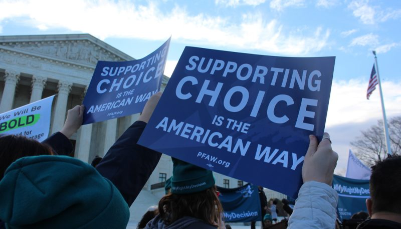 Image for PFAW Joins Rally at the Supreme Court to Defend Abortion Access