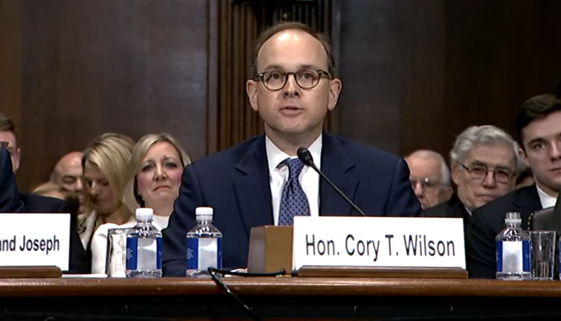 The Extreme Views of Judicial Nominee Cory Wilson Make Him Unqualified to Serve