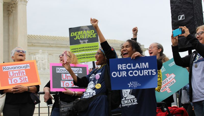Image for Courts Activists Gather for Virtual Rally to Protect Our Health Care and Our Rights