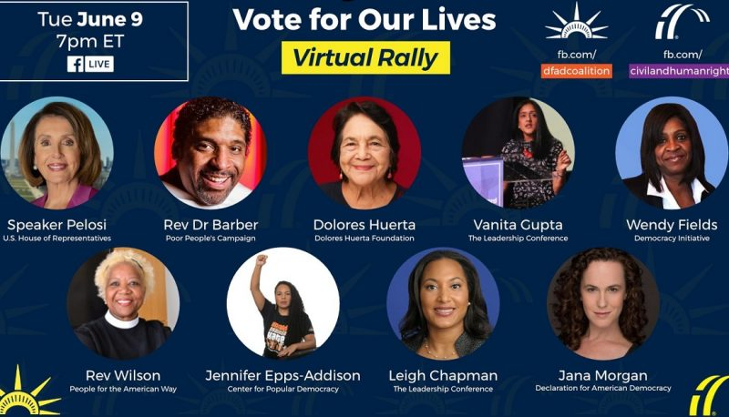 Image for PFAW Joins Speaker Pelosi at Vote For Our Lives Virtual Rally