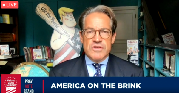 At Values Voter Summit 2020, Eric Metaxas Compares Black Lives Matter to Nazis