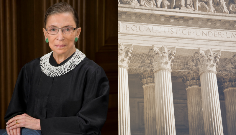 Image for Ruth Bader Ginsburg Defended Important Social Justice Gains, Including Health Care
