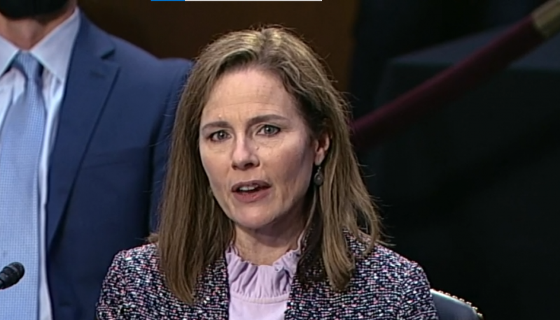 Image for Sheldon Whitehouse Raises Issue of Amicus Filers with Amy Coney Barrett