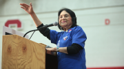 Dolores Huerta: Democratic Candidates Must Earn Latino Support