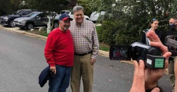 Attorney General Bill Barr Meets With Radical Right-Wing Activist Dave Daubenmire