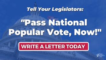 National Popular Vote - Sign, TW