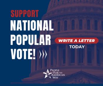 National Popular Vote - Sign, FB