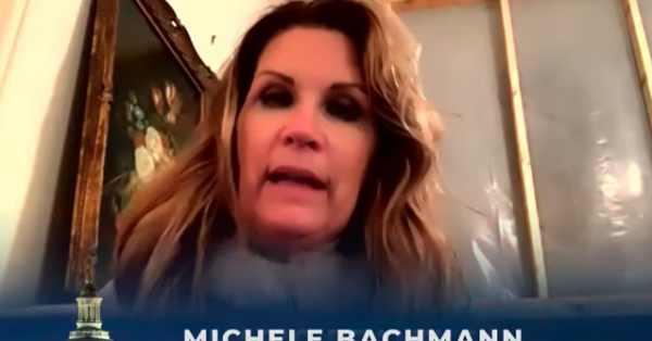 'This Is A Coup': Michele Bachmann Baselessly Blames the Left for Storming the U.S. Capitol, Stealing the Georgia Election