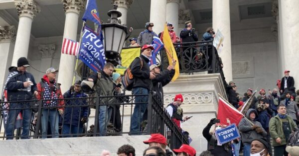 Trump Supporters, Far-Right Groups Storm Capitol Building in Act of Domestic Terrorism