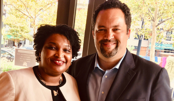 Image for A Conversation with Stacey Abrams and Ben Jealous