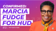 "People For Responds to Marcia Fudge's HUD Confirmation: ""We are excited about the advances she will make for millions of people."""