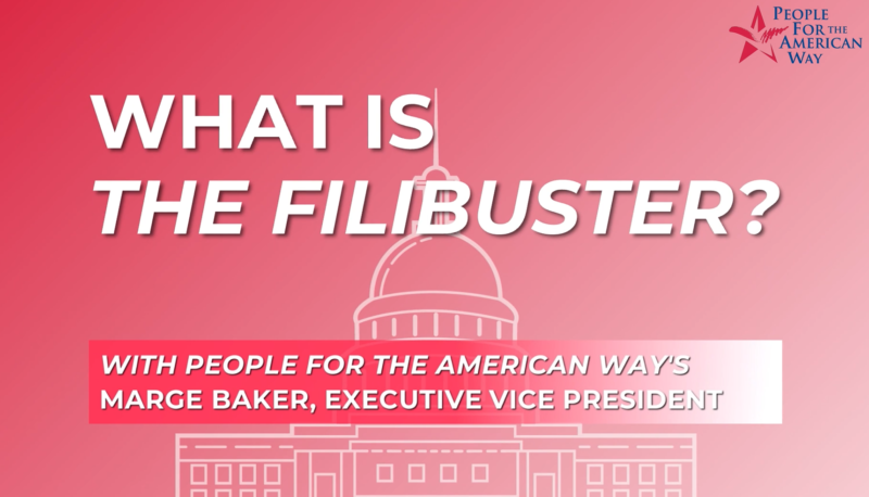 Image forPeople For FAQs: The Filibuster