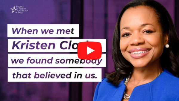 It's time to make #HerFightOurFight. It's time to confirm Kristen Clarke.