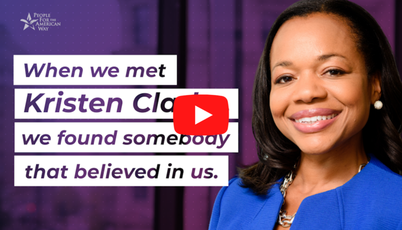 Image for #DemocracyNow: GOP Smears DOJ Civil Rights Pick Kristen Clarke
