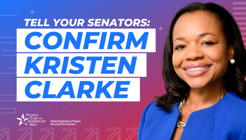 Image for Kristen Clarke is the Civil Rights Champion We Need at the Department of Justice