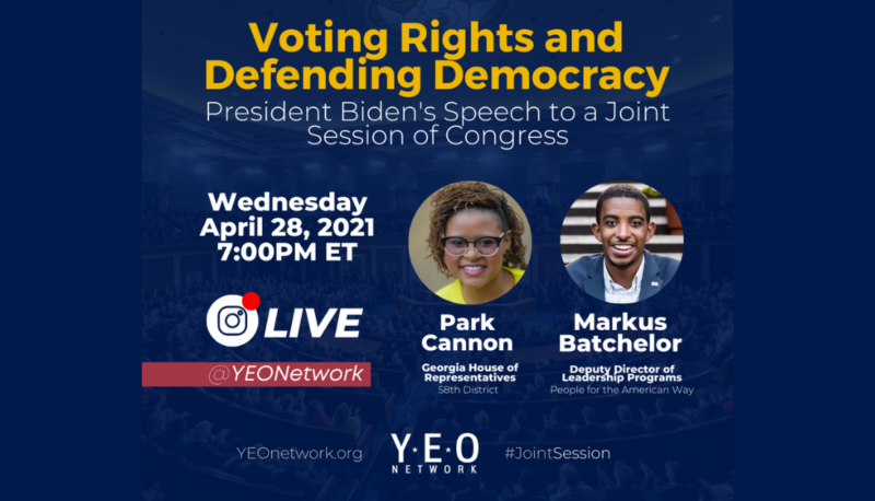 Image for YEO Network: Voting Rights and Defending Democracy
