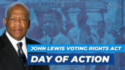 People For Members Join Day of Action to Pass the John Lewis Voting Rights Act