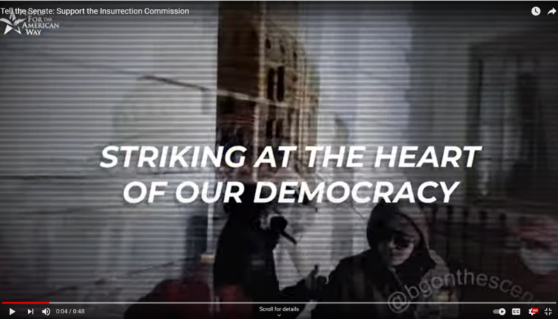 Image forThe Senate Must Support the January 6 Insurrection Commission