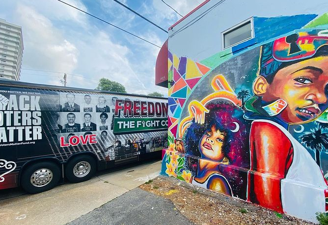 Image for History and Hope as #FreedomRide2021 Crosses the Deep South