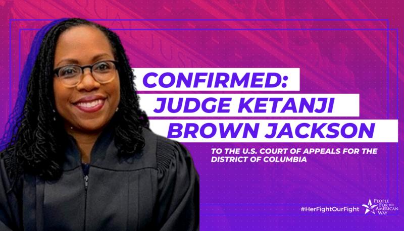 Image for Celebrating the Confirmation of Ketanji Brown Jackson