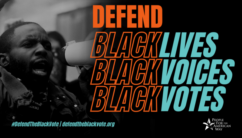 Image for Black Churches Have Moral Authority to Defend the Black Vote