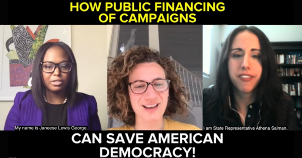 Small Donor Revolutionaries: Young Elected Officials Support S. 1