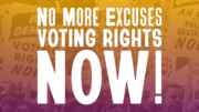 No More Excuses: Activists Rally to Urge President Biden to Take Action on Voting Rights!
