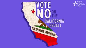 Vote no on the California recall