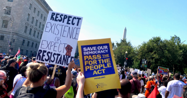 People For Marches On for Voting Rights Across the Country