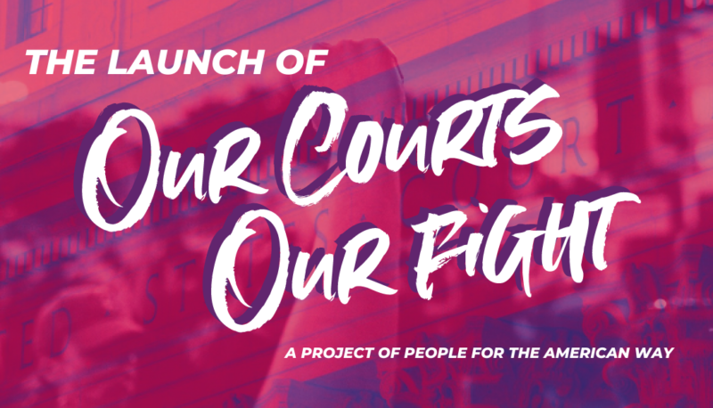 """Image forLaunch of """"Our Courts, Our Fight"""""""