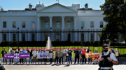 Lifting Up Our Voices for Voting Rights: People For, Clergy, and Alyssa Milano Protest at White House