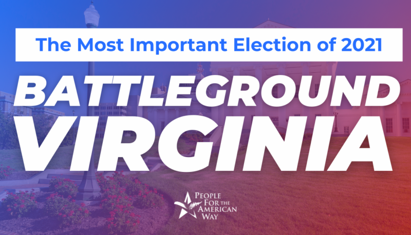 Image forThe Most Important Election of 2021: Battleground Virginia
